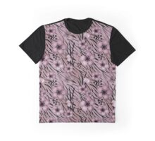 Floral backgrounds, tiger background Graphic T-Shirt