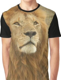 Wild Lion Graphic T-Shirt