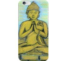 Sitting Buddha iPhone Case/Skin