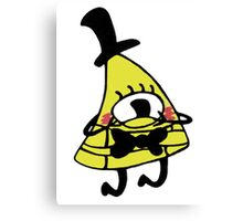 Adorable Blushing Bill Cipher Canvas Print