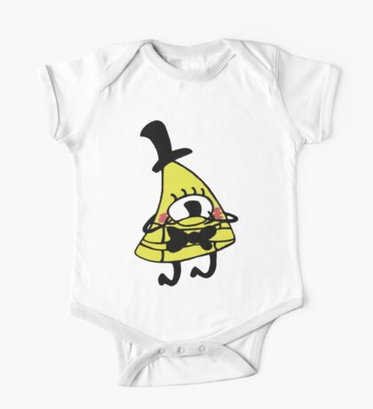 Adorable Blushing Bill Cipher One Piece - Short Sleeve