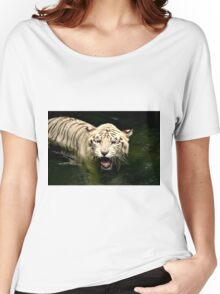 White Tiger Women's Relaxed Fit T-Shirt
