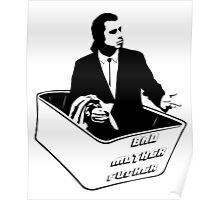 Pulp Fiction Van Vega Confused No Money Wallet Poster