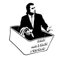 Pulp Fiction Van Vega Confused No Money Wallet Photographic Print