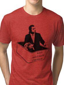 Pulp Fiction Van Vega Confused No Money Wallet Tri-blend T-Shirt