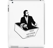 Pulp Fiction Van Vega Confused No Money Wallet iPad Case/Skin