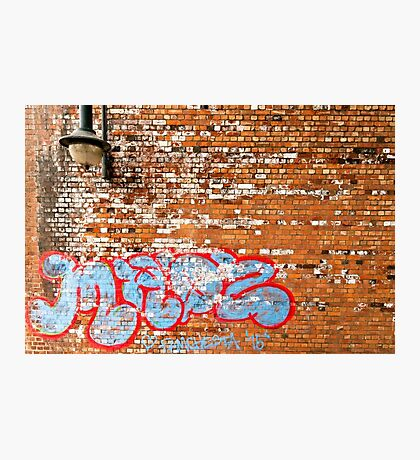 Urban Art (The Writing's on the Wall) Photographic Print