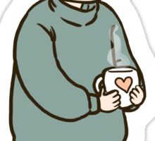 Comfort Coffee Sticker