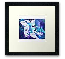 Turn up the smile on your dial Framed Print