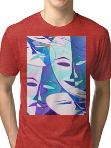 Turn up the smile on your dial Tri-blend T-Shirt