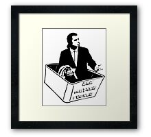 Pulp Fiction Vincent Vega Confused No Money Wallet Framed Print