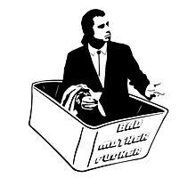 Pulp Fiction Vincent Vega Confused No Money Wallet Photographic Print