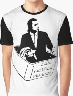 Pulp Fiction Vincent Vega Confused No Money Wallet Graphic T-Shirt