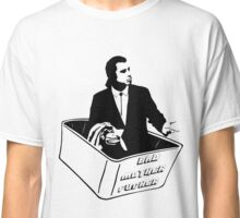 Pulp Fiction Vincent Vega Confused No Money Wallet Classic T-Shirt