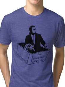 Pulp Fiction Vincent Vega Confused No Money Wallet Tri-blend T-Shirt