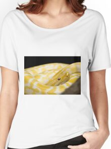 Yellow Snake Women's Relaxed Fit T-Shirt