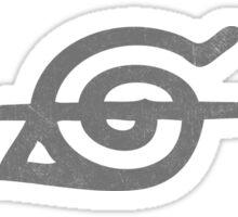 Uchiha Itachi Berk Forehead Symbol Sticker