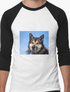 Husky Men's Baseball ¾ T-Shirt