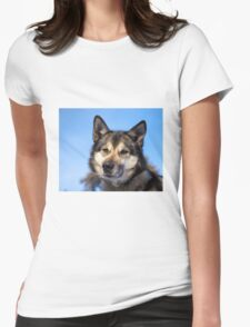 Husky Womens Fitted T-Shirt