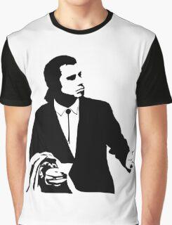 Pulp Fiction Vincent Vega Confused Graphic T-Shirt