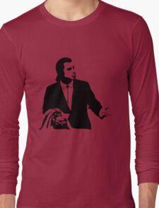Pulp Fiction Vincent Vega Confused Long Sleeve T-Shirt