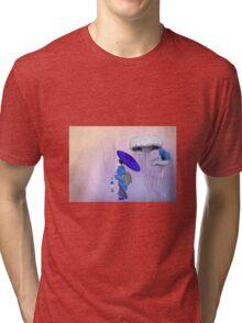 Geisha Style Tri-blend T-Shirt