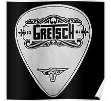 GRETSCH PICK PLECTRUM Poster