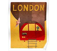 Tube Train Poster