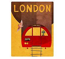 Tube Train Photographic Print