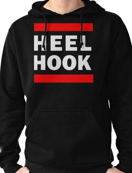 Heel Hook (BJJ & MMA) Pullover Hoodie