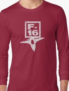 F16 Fighter Long Sleeve T-Shirt