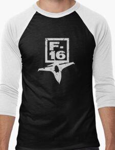 F16 Fighter Men's Baseball ¾ T-Shirt