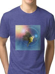 Fantasy Bird Tri-blend T-Shirt