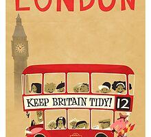 London Bus by Daviz Industries