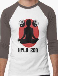 KYLO ZEN Men's Baseball ¾ T-Shirt
