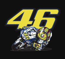 Valentino Rossi baby supporter Baby Tee