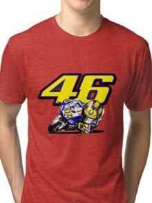Valentino Rossi baby supporter Tri-blend T-Shirt