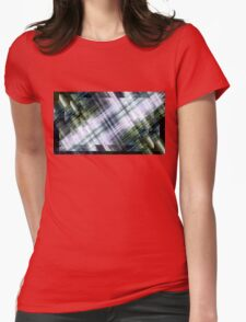 blown out carbon fiber o ring Womens Fitted T-Shirt