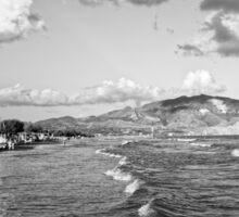 Zakynthos Greece Island landscape Sticker