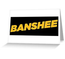 Banshee Greeting Card