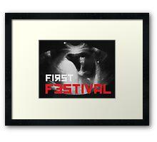 First Festival Framed Print