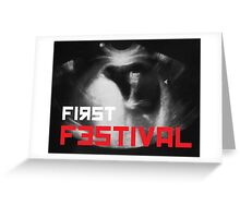 First Festival Greeting Card