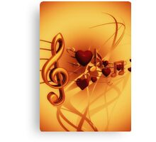 Clef Canvas Print