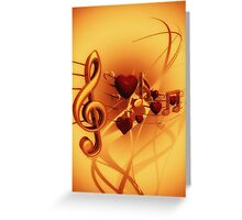 Clef Greeting Card