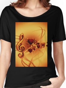 Clef Women's Relaxed Fit T-Shirt