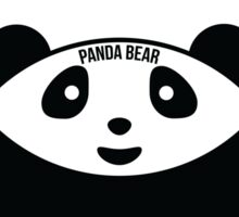 Panda Bear: Venn Diagram Sticker