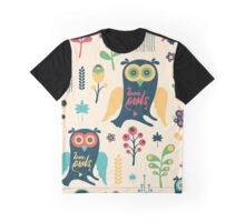Love Owls Graphic T-Shirt