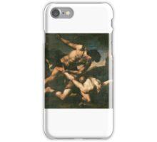 Orazio Riminaldi, Cain and Abel, 17th century iPhone Case/Skin