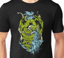 Snake Dragon (colored) Unisex T-Shirt