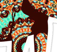Decorative Elephant Sticker